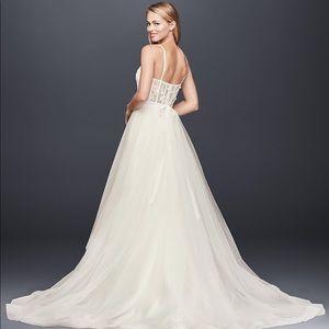 NWT David's Bridal Tulle Ballgown